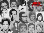 Fotograme de la proyección Tapiz de  desaparecidos