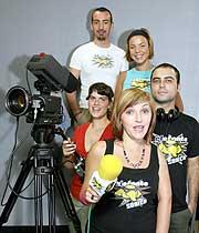El equipo (De arriba a abajo) Jesús Chamizo, 'Chechu', Ruth López, José Alberto Martín, Sandra Chaparro y Marisol Torres.